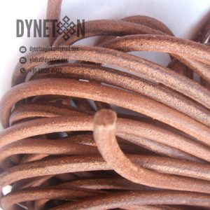 10mm Round Leather Cord - DYNETON / Round Leather Cords 10 mm