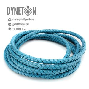 2mm Bolo Braided Leather Cord - DYNETON / Braided Leather Cords 2 mm