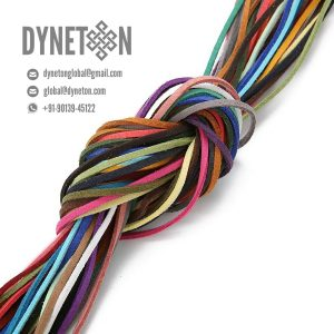 2mm Flat Leather Cord - DYNETON / Flat Leather Cords 2 mm