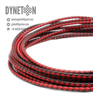 3mm Bolo Braided Leather Cord - DYNETON / Braided Leather Cords 3 mm