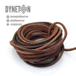 3mm Flat Leather Cord - DYNETON / Flat Leather Cords 3 mm