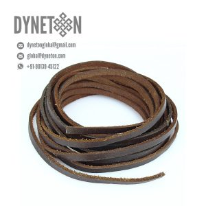 4mm Flat Leather Cord - DYNETON / Flat Leather Cords 4 mm
