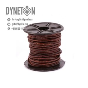 4mm Round Leather Cord - DYNETON / Round Leather Cords 4 mm