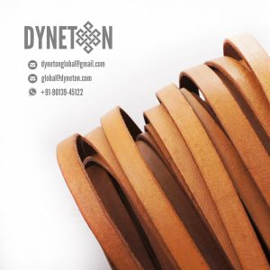 5mm Flat Leather Cord - DYNETON / Flat Leather Cords 5 mm