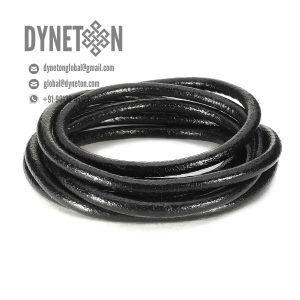 6mm Round Leather Cord - DYNETON / Round Leather Cords 6 mm
