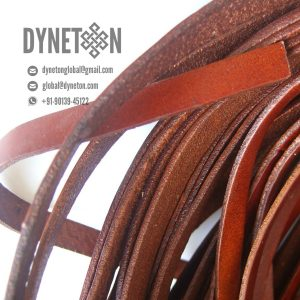 7mm Flat Leather Cord - DYNETON / Flat Leather Cords 7 mm