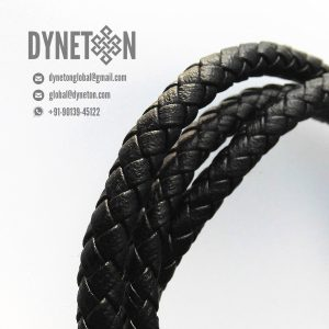 9mm Bolo Braided Leather Cord - DYNETON / Braided Leather Cords 9 mm